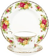 Royal Albert Old Country Teacup Set - Roses - 3 pc