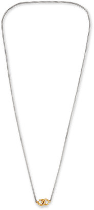 Sterling Silver And 18-Karat Gold Chain