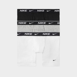 Nike Men's Underwear Everyday Cotton Stretch Boxer Briefs (3 Pack)