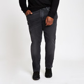River Island Big and Tall black wash Dylan slim fit jeans