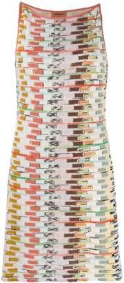 Missoni short fine knit dress