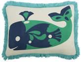 Thomas Paul Amalfi Whale Pillow - Jade