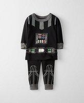 Star WarsTM Toddler Glow In The Dark Long John Pajamas In Organic Cotton