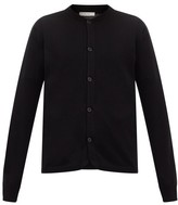The Row Wes Bomber-collar Cashmere Cardigan - Mens - Black