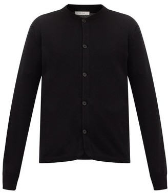 The Row Wes Bomber-collar Cashmere Cardigan - Black