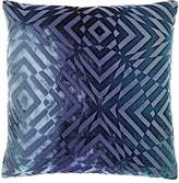 Kevin OBrien Kevin O'Brien Optical Burnout Velvet Pillow