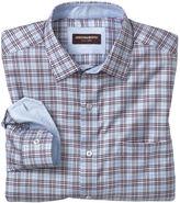 Johnston & Murphy Quad Stripe Windowpane Shirt