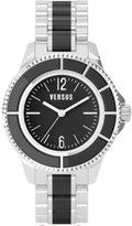 Versus By Versace Women's AL13LBQ809A999 Tokyo Black Dial Stainless Steel Bracelet Watch