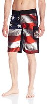 Metal Mulisha Men's Old Glory Boardshort