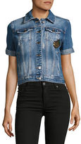 Buffalo David Bitton Patch-Accented Denim Jacket