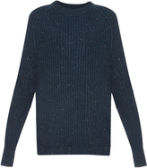 Raey Donegal wool and cashmere-blend sweater