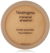 Neutrogena Mineral Sheers Loose Powder, Natural Beige, 0.19 Ounce