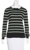 Veronica Beard Striped Long Sleeve Sweater
