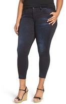 KUT from the Kloth Plus Size Women's Stretch Crop Skinny Jeans
