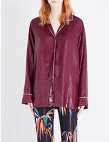Emilio Pucci Loose-fit sequinned shirt