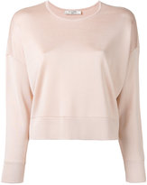 Lanvin cropped knitted top - women - viscose - 38