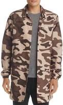 Obey Master Camouflage Rain Jacket