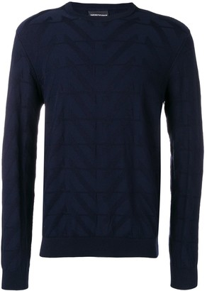 Emporio Armani Fantasia knit sweatshirt