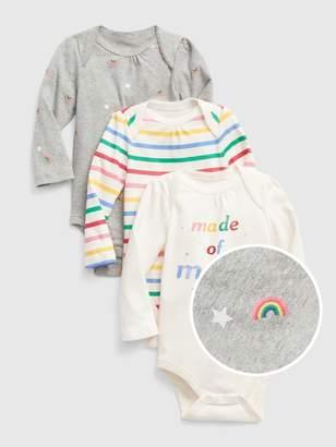 Gap Baby Rainbow Bodysuit (3-Pack)