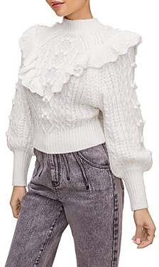 ASTR the Label Judy Ruffled Sweater