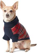 Ralph Lauren Plaid Wool-Blend Dog Sweater