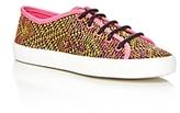Sam Edelman Girls' Woven Print Slip On Sneakers - Toddler, Little Kid, Big Kid