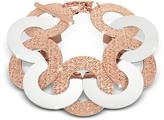 Rebecca R-Zero Rose Gold Over Bronze and Steel Maxi Chain Bracelet