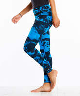 Lucy Navy Abstract Leggings