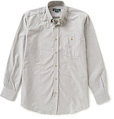 Beretta Oxford Long-Sleeve Solid Woven Shirt