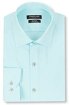 Kenneth Cole New York Non-Iron Slim-Fit Spread-Collar Solid Dress Shirt