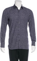 Tom Ford Floral Print Woven Shirt