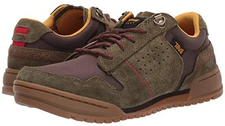 Teva Highside '84 (Dark Olive/Brown) Men's Shoes