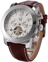 K&S KS Automatic Mechanical Men's Leather Dial Luxury Wrist Watch KS020