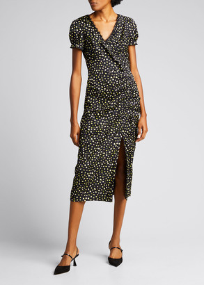 Jason Wu Collection Floral-Print Lace Sheath Dress