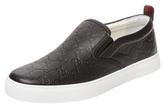 Gucci Debossed Slip-On Sneaker