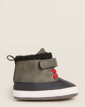 Baby Essentials Rising Star (Newborn/Infant Boys) Grey Duck Boots