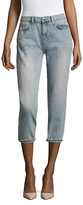 IRO Fuji Denim Distressed Front Cropped Jean