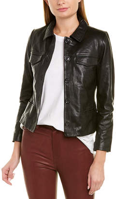 Zadig & Voltaire Liam Leather Jacket