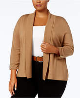 plus size brown cardigan - ShopStyle