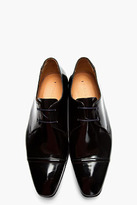 Paul Smith Black patent leather robin antick boots