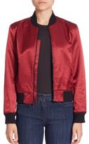 3x1 Satin Collection Bomber Jacket