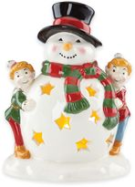 Kathy Ireland Home® by Gorham Once Upon a Christmas Snowman Tealight Holder