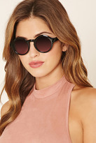 Forever 21 Glossy Round Sunglasses