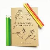 Kate Broughton 'Colouring Book Of Birds'