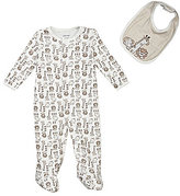Little Me Newborn-9 Months Safari Footie Set