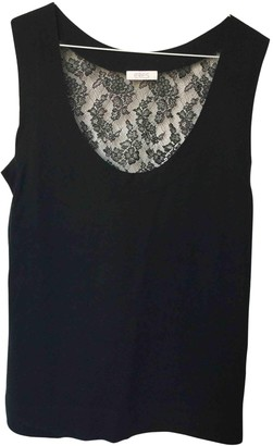 Eres Black Cashmere Top for Women