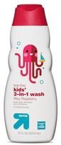 up & up Tear free Kids 3 in 1 Body Wash - Riley Raspberry - 12 oz