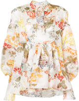 Rosie Assoulin floral print blouse