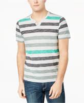 INC International Concepts I.n.c. Men's Iron Stripe T-Shirt, Created for Macy's