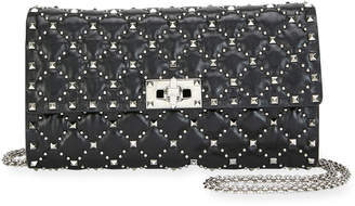 Valentino Garavani Spike.It Micro-Stud Quilted Crossbody Bag